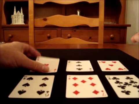 Lie Detector #2 card trick