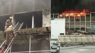 Fire breaks out at AIIMS near emergency ward, 22 fire tenders rushed to spot