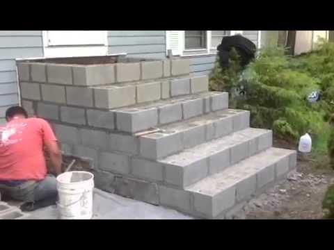 Cultured Stone Steps----Mazzilli Masonry