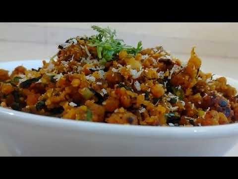 झुणका - Zunka - Besan ki Sabzi - Besan zunka recipe in Hindi
