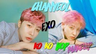 EXO Chanyeol Ko Ko Bop Makeup look!