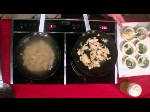 Chef Robert Scaffedi demonstrates to us how to make a