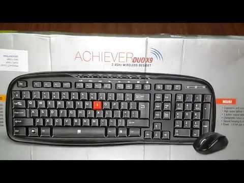 (HINDI)Iball Achiever Duo X9 (BEST BUDGET)Wireless Keyboard UNBOXING & REVIEW