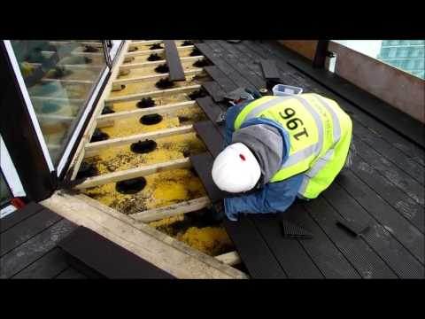 How to build decking on a terrace