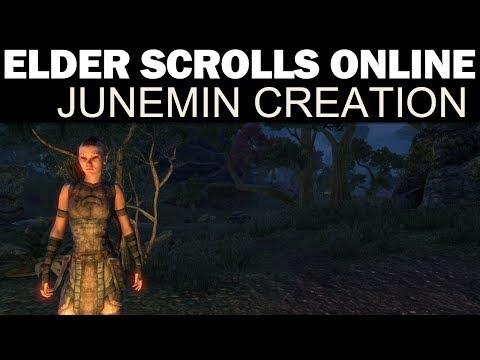 The Elder Scrolls Online - Junemin Character Creation