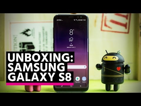 Unboxing: Samsung Galaxy S8