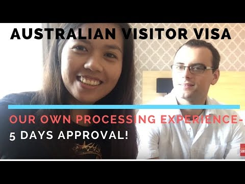 HOW TO APPLY AUSTRALIA VISITOR VISA FOR LONG DISTANCE RELATIONSHIP COUPLES w/ subtitle