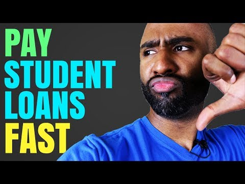 Pay Off Student Loans Really Fast