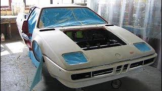 1981 BMW E26 M1 Restoration Project