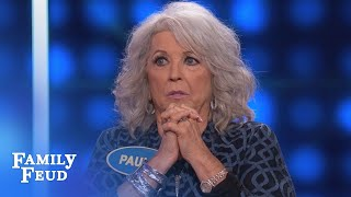 Paula Deen Goes South With Her Answer Celebrity Family Feud Outtake