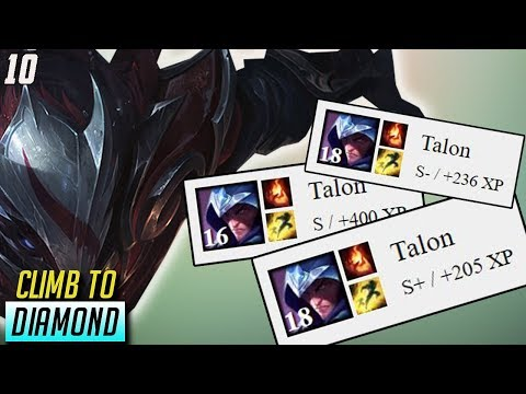 I ONLY GET S's on TALON (8 S's Last 10 Games)-- Climb to Diamond Ep.10