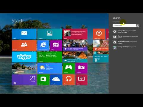 How to Change Windows 8.1 Start Screen Background - Easy & Fun