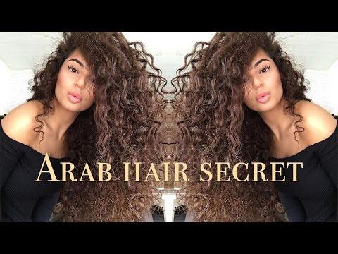 ARAB HAIR GROWTH RECIPE - How to grow THICKER hair