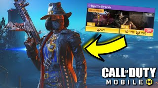 I'M CONFUSED!!! Night Thriller Crate Opening in Call of Duty Mobile