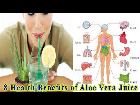 8 Health Benefits of Aloe Vera Juice - Natural Health Cures