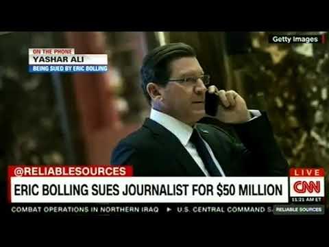 ERIC BOLLING SUES JOURNALIST FOR $50 MILLION ON CNN Breaking News