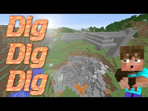 How to Dig FAST and AUTOMATICALLY In Minecraft | How To Make A Drill in Minecraft | TNT Drilling