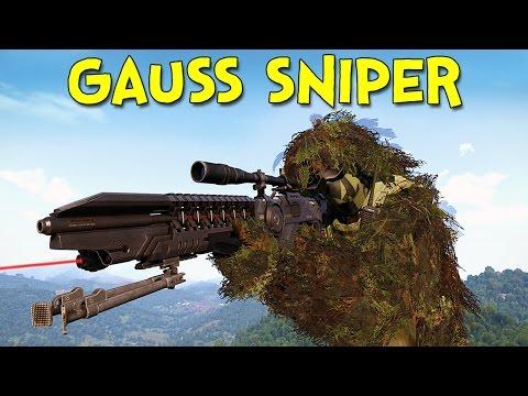 THE GAUSS SNIPER! - Arma 3: DayZ Tanoa - Ep.2