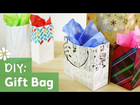 How to Make a Gift Bag | Sea Lemon