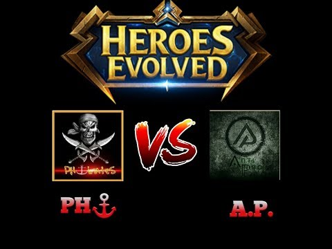 Heroes Evolved- RNR TOURNAMENT | PH⚓RATES VS ANTIPRO | GAME 2