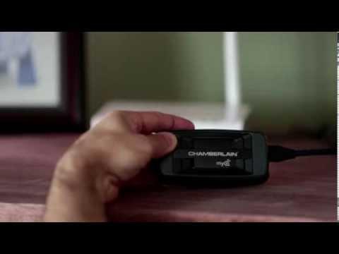 Le dispositif MyQ Internet Gateway Chamberlain