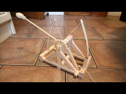 Da Vinci Catapult - Gadgets Review Geek