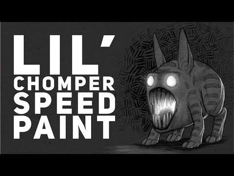 Lil Chomper speed paint