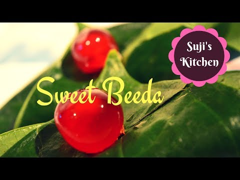 Famous Sweet Beeda in Tamil - Easy Paan recipe for Parties (with English subtitle)
