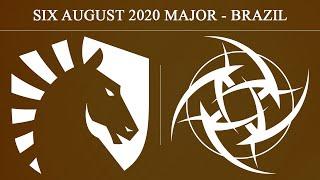 Liquid vs NIP - Map1 @Coastline | Six August 2020 Major - Brazil (7th August 2020)