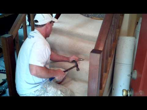 How To Install Carpet On Stairs