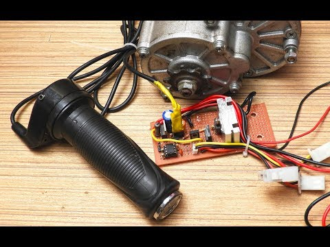 How to Make a 24/36 Volt E-bike controller_under 60 rupees.