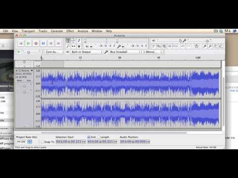 How to add background music in Audacity