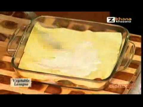 Vegetable Lasagna - Sanjeev Kapoor - Quick Chef