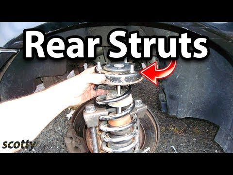 How to Replace Rear Struts on Your Car