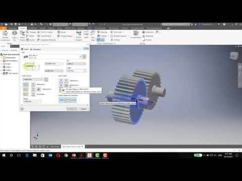 Gearbox Design - Key Connection Generator