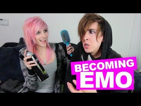 EMO GIRL TURNS BOY EMO | feat. Alex Dorame