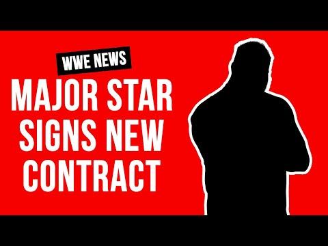 WWE Superstar Gets HUGE Long Term Contract
