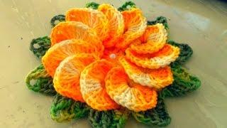 Como Fazer Flor de Crochê Passo a Passo Simples e Fácil Com Cristina Coelho Alves