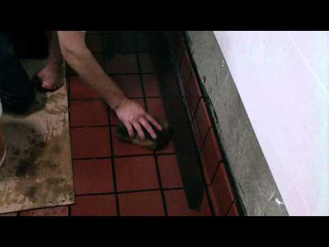 Cleaning epoxy off quarry tile