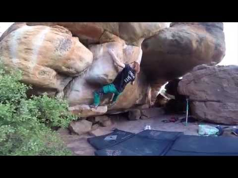 Witness the Sickness 8A (Rocklands, South Africa)