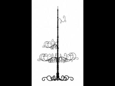 Wrought Iron Christmas Tree from patchmagic