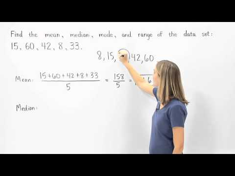 Central Tendency | Mean Median Mode Range | MathHelp.com