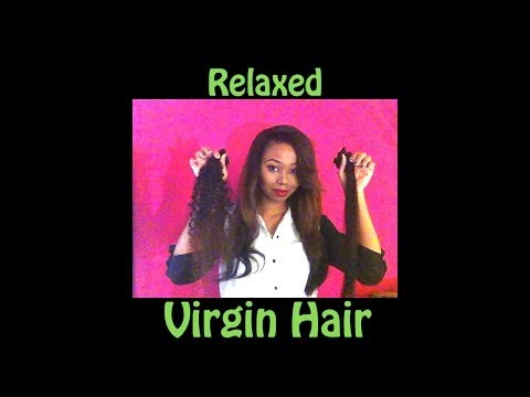 Turn your curly or kinky virgin hair to straight silky hair! PERMANENTLY!!! Applying a relaxer!