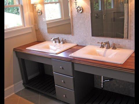 Fascinating Open Shelf Bathroom Vanity
