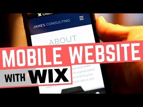 Create Mobile Website With Wix Mobile Editor - How AUTOMATIC is it?