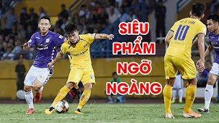 Highlights | Hà Nội FC - SLNA | Tuyệt phẩm sút xa nhấn chìm ĐKVĐ trong ngày sinh nhật | NEXT SPORTS