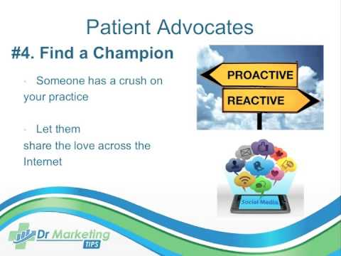 Turning Patients Into Online Advocates Webinar