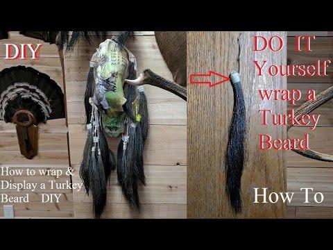 turkey Taxidermy How to wrap & display a Turkey Beard Do it yourself