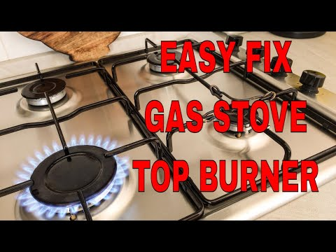How To Repair a Gas Stove Top Burner An Easy Fix