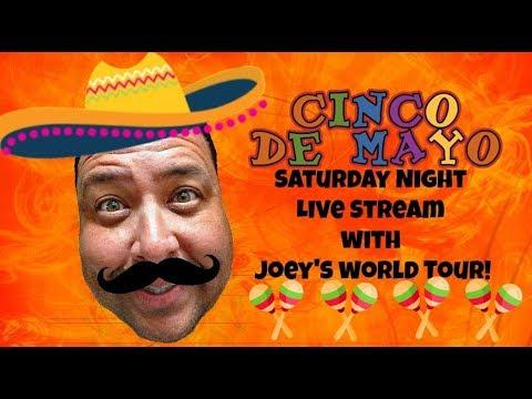 🔴Saturday Night Live Stream w/Joey's World Tour!